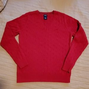 Izod Sweaters - Womens IZOD V-Neck Sweater